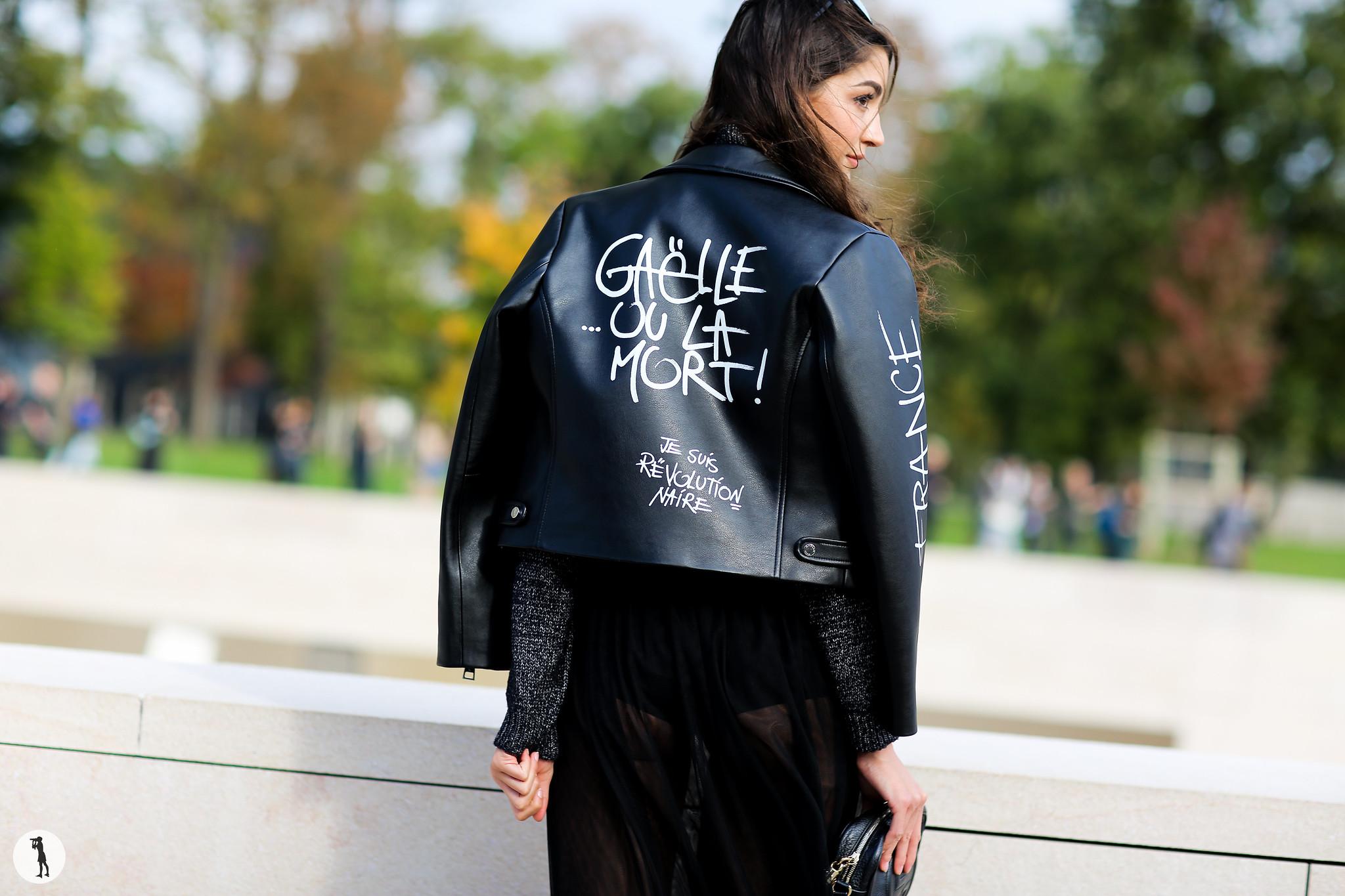 Sara Rossetto at Paris Fashion Week 2
