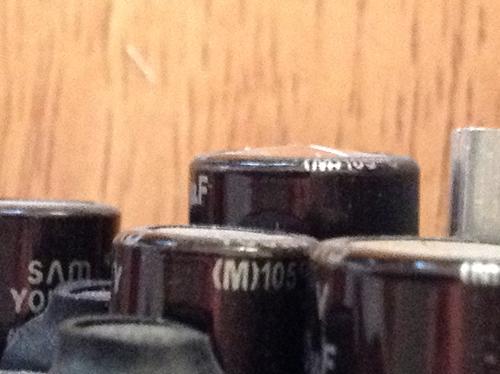 Bulging capacitor view 02