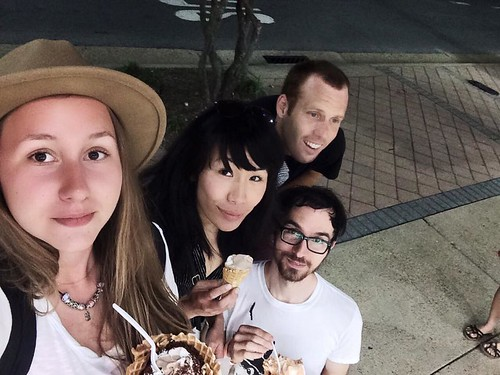 Friends outside of Shaka's (6-7-15)