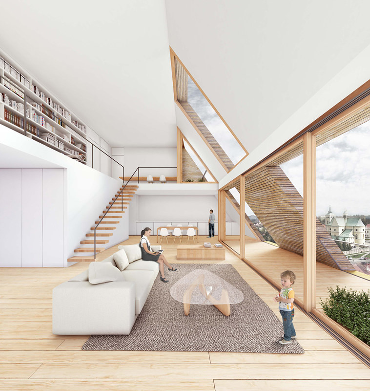 Новый жилой комплекс в Жешуве. Проект Bakpak Architects
