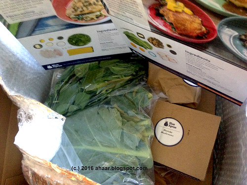 Trying out Blue Apron