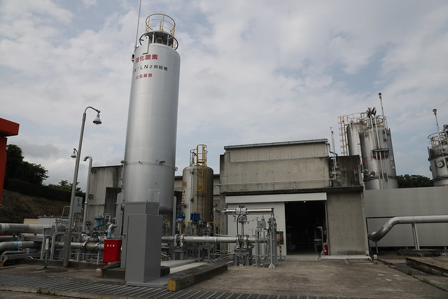 角田試験場報道公開_液酸/液水エンジン供給系試験設備_3383