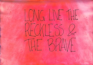 the reckless and the brave | by ѕυѕαииα