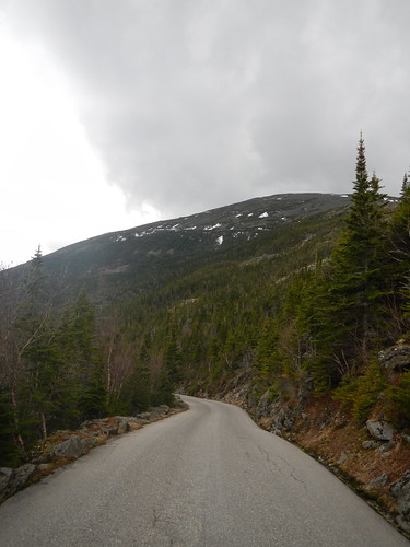 Looking up at 5 mile 4/25 | by Mt.Washington Auto Road