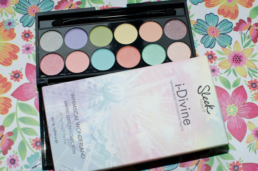 Палетка теней Sleek MakeUP i-Divine All the fun of the fair - отзыв, свотчи