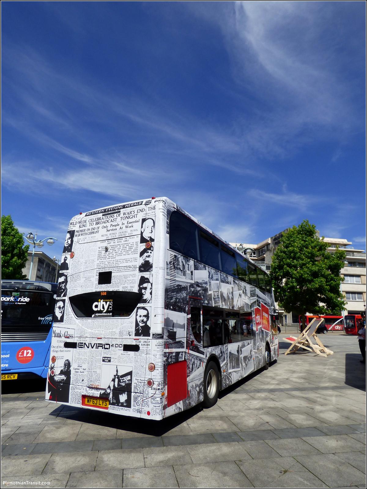 Plymouth Citybus 508 WF63LYS