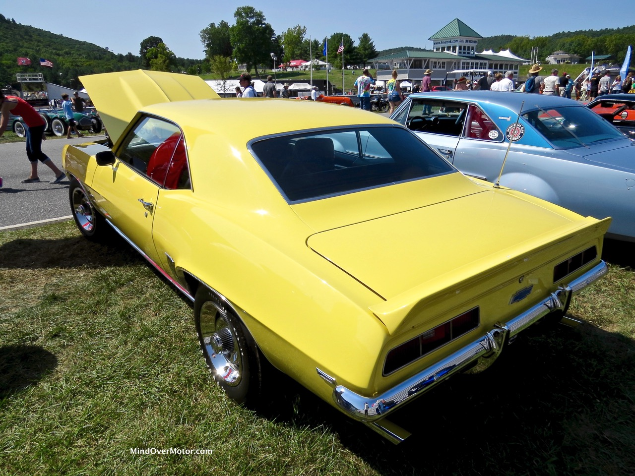 1969 COPO Camaro Rear 1