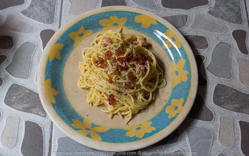 สปาเก็ตตี้คาโบนาร่า Spaghetti Carbonara