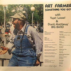 ART FARMER:SOMETHING YOU GOT(JACKET D)