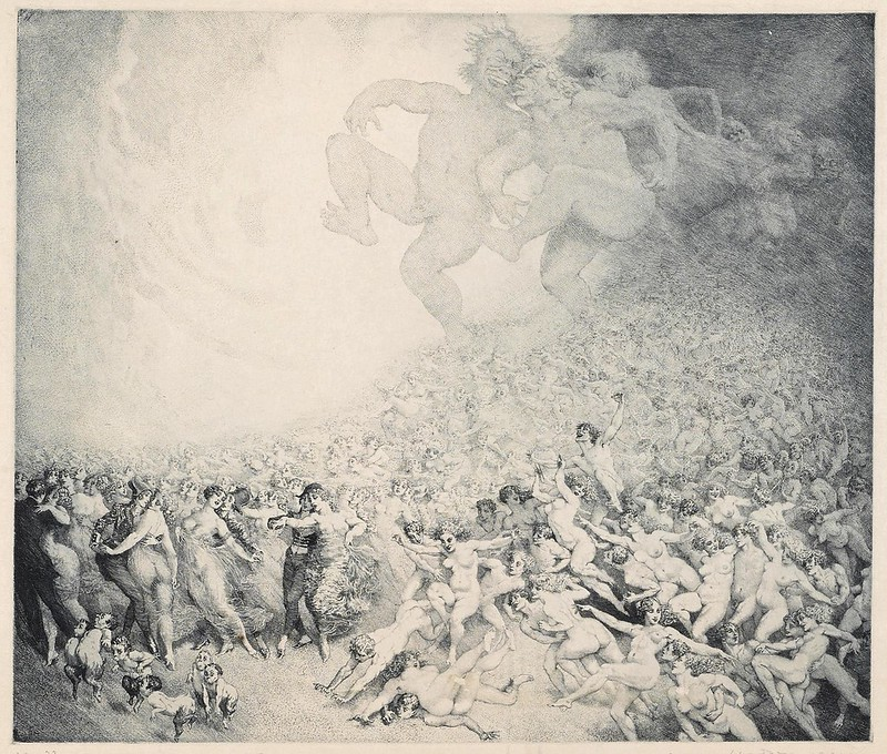 Norman Lindsay - Allegro Vivace 8th Symphony (B. 269), 1925