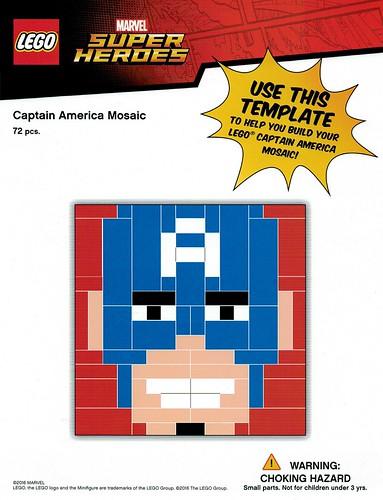 LEGO Marvel Super Heroes TRU Captain America