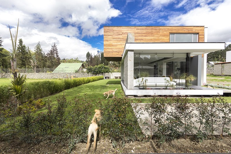 Современный модульный дом. Проект ModulARQ arquitectura
