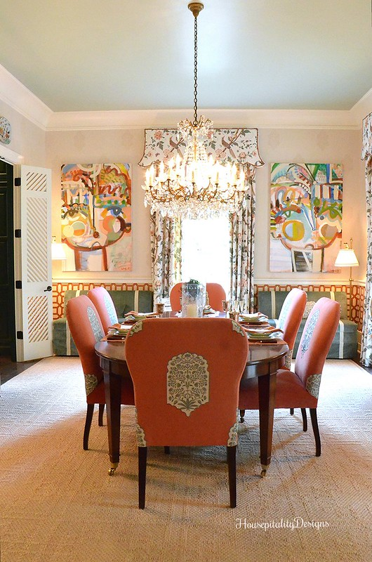 Southern Living Idea House Dining Room - Housepitality Designs