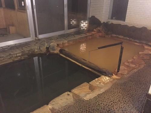 岩屋館 館内の温泉