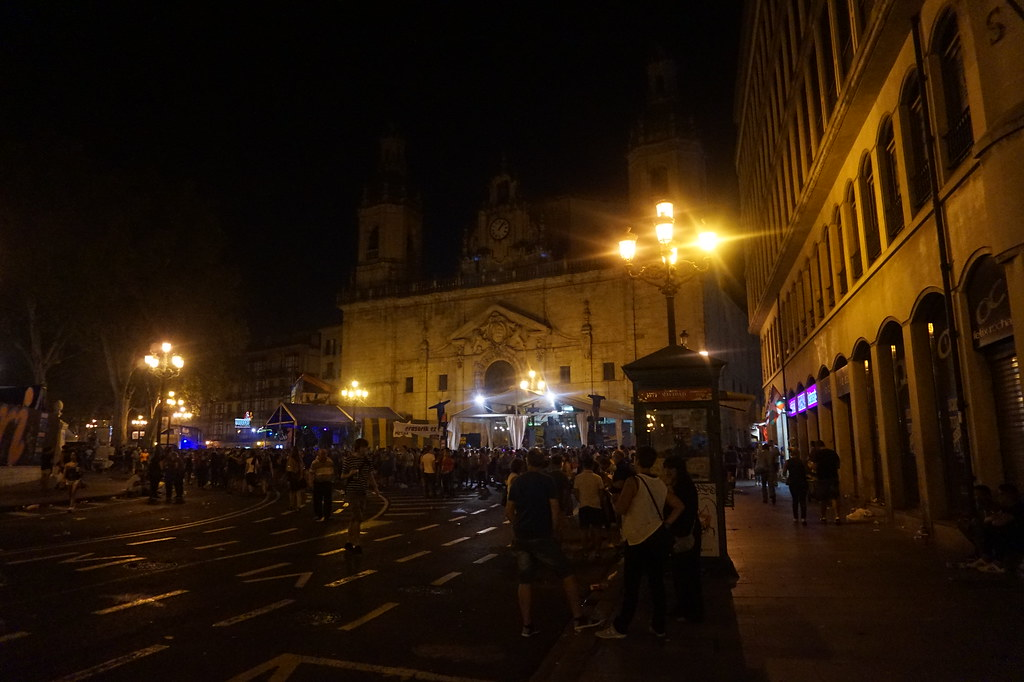 San Sebastian August 2016