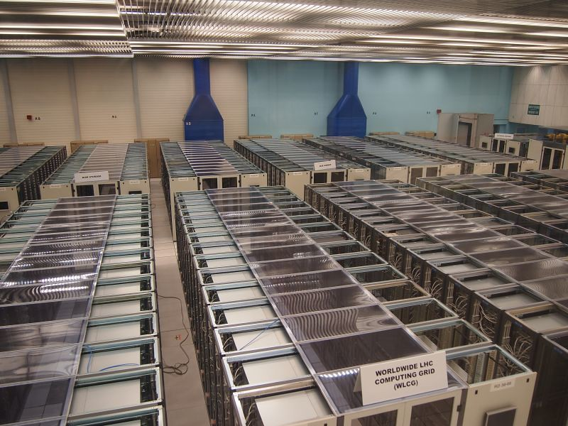 Data centre for the LHC