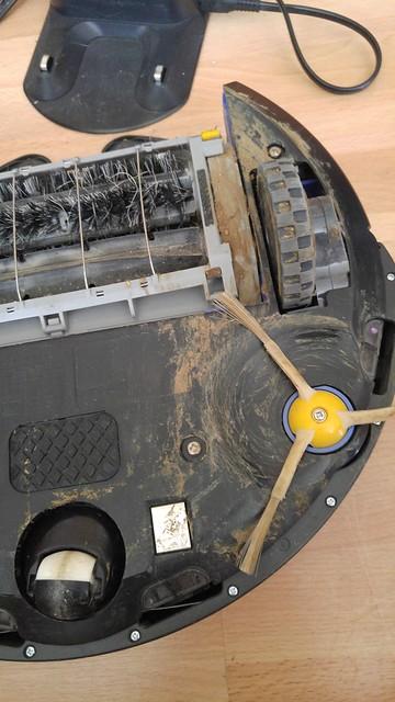 Roomba vs. cat poop