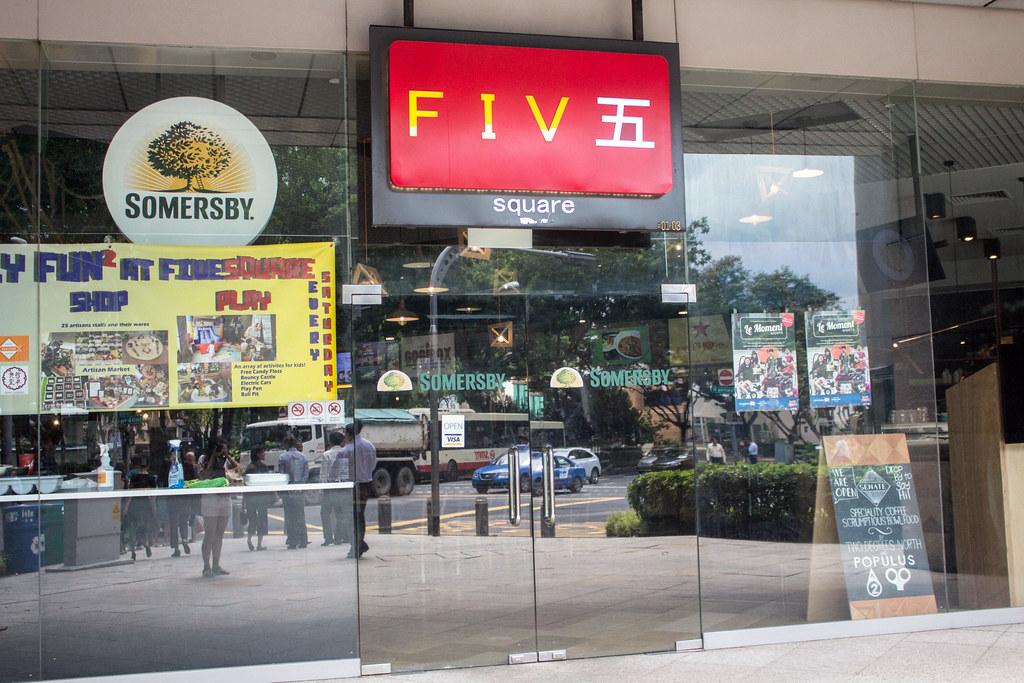花哨的小贩食品:五点钟的Cinqo Tapas