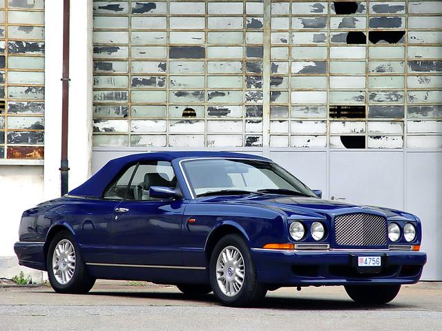 Кабриолет Bentley Azure первого поколения. 1995 – 2003 годы