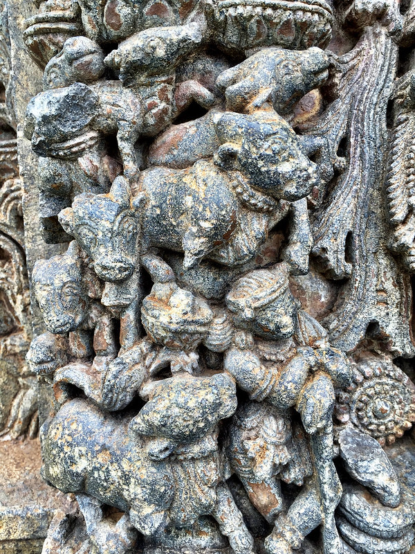 Chilling gopi and calm cows- Baichoja's Krishna