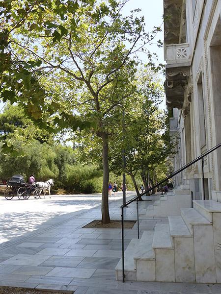 escaliers de marbre