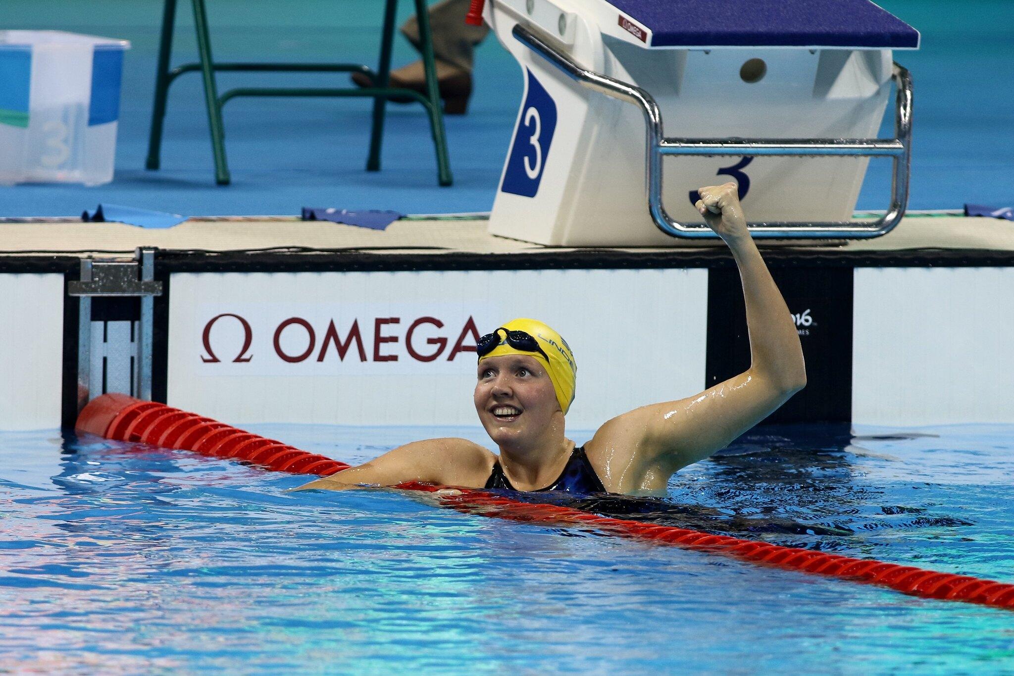 Pernilla Lindberg, Swimming Women's 200m freestyle final S14 - Paralympics Rio 2016