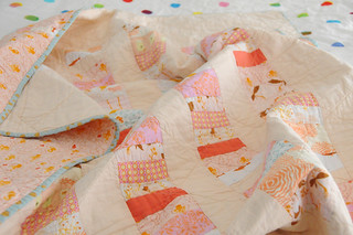 stacked coins mermaid quilt | by charm stitch