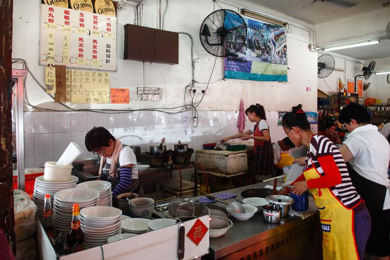 Pong Kee Seafood Noodles Stall Jalan Ipoh