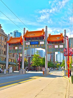 Millenium Gate | Chinatown Vancouver, BC | by rickchung.com