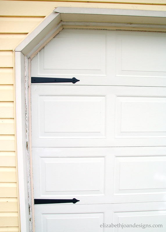 Garage Door Black Embellishment