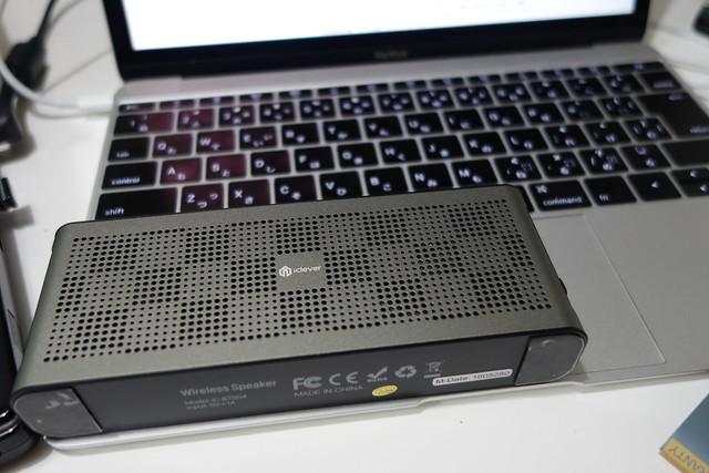 iClever Bluetooth スピーカー 薄型 防水 ポータブル ワイヤレスステレオスピーカー デュアル5Wデュアルスピーカー 10時間連続再生 iPhone スマホ タブレット などに対応 (ブラック) IC-BTS04  画像にマウスを合わせると拡大されます iClever Bluetooth スピーカー 薄型 防水 ポータブル ワイヤレスステレオスピーカー デュアル5Wデュアルスピーカー 10時間連続再生 iPhone スマホ タブレット などに対応 (ブラック) IC-BTS04