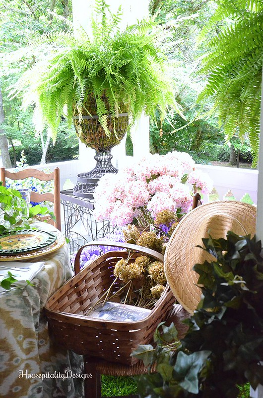 Cashiers Showhouse 2016/Balcony - Housepitality Designs
