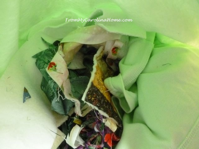 Dog Beds Recycling Scraps
