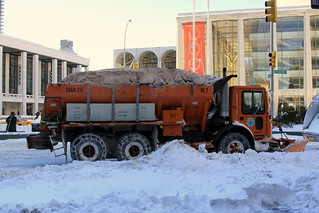 Salt Spreading in Manhattan | by New York City Department of Sanitation