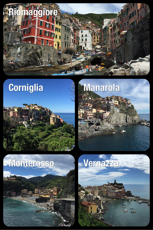 One of my favorite places in Italy - Cinque Terre!