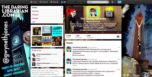 New Twitter Look 10-12 | by The Daring Librarian
