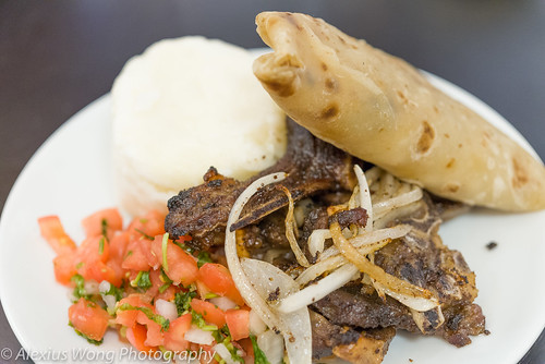 Mbuzi Choma - Grilled Goat