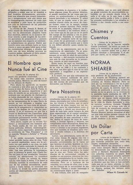 Cinelandia, Tomo XI Nº 1, Janeiro 1937 - 64
