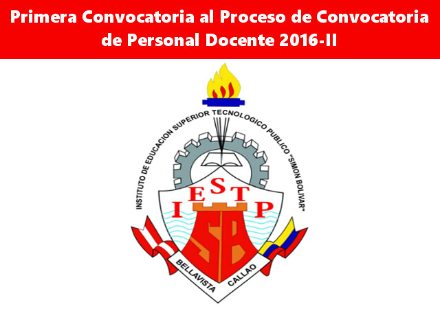 Instituto sim n bol var for Convocatoria de plazas docentes 2016
