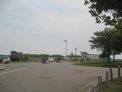 Towards the Prince Edward Battery #pei #charlottetown #victoriapark #princeedwardbattery #latergram