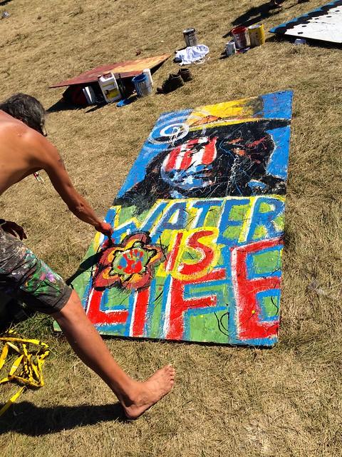 Water is Life artwork