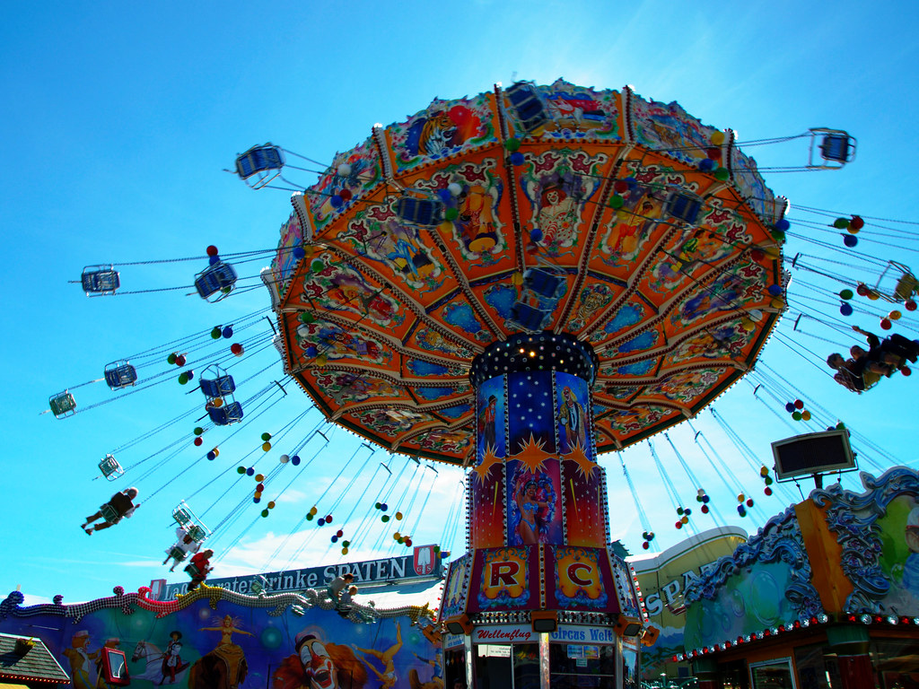 Fair ride at Oktoberfest