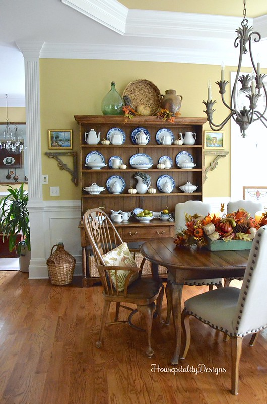 Dining Room for Fall - Housepitality Designs