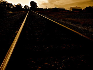 "Tracks Thru ""A Small Town"" Called Baltimore Ohio 