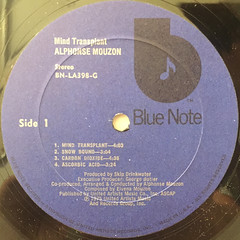 ALPHONSE MOUZON:MIND TRANS PLANT(LABEL SIDE-A)