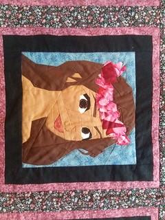 Disney Princess and Leading Ladies Quilt. Paper Pieced.  Patterns on Fandominstitches.com