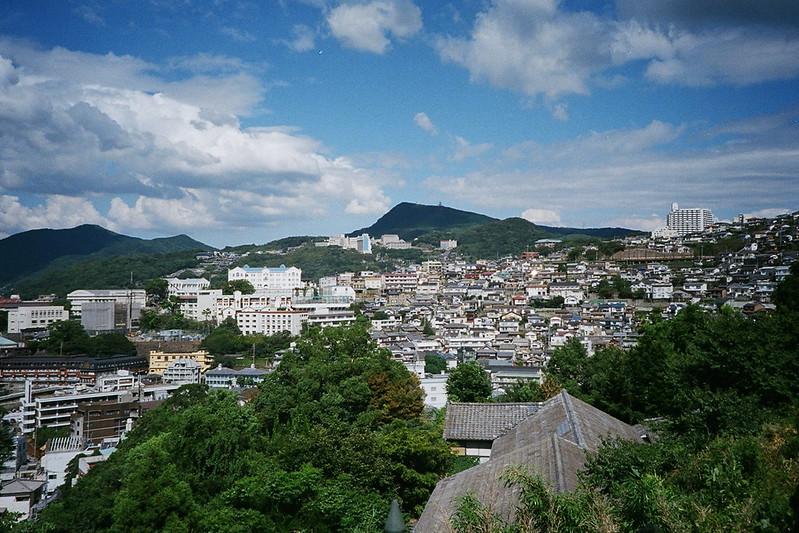 グラバー園から見下ろす長崎市