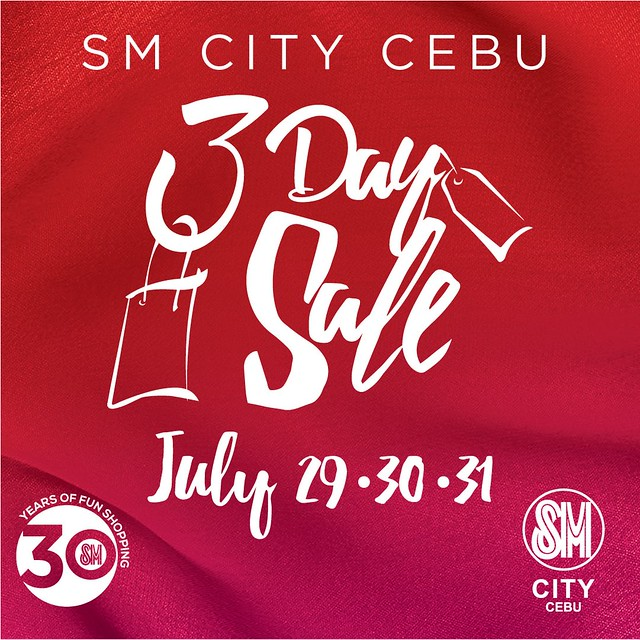 SM City Cebu 3 Day Sale 2016