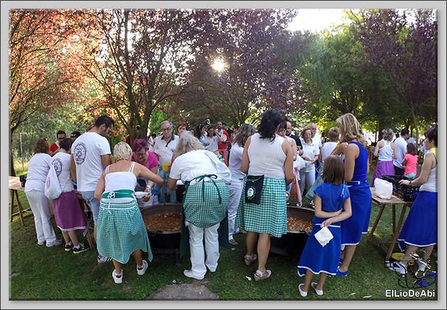 Briviesca en Fiestas 2016 Jira campestre, entierro de San Roquín, subida de las blusas y traca Fin de Fiestas 3
