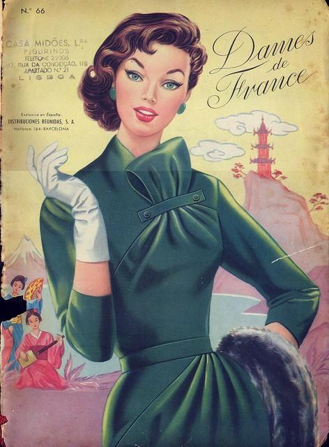 Dames de France, Nº 66 - capa
